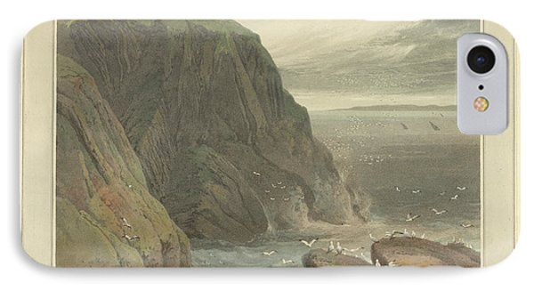 The Mull Of Galloway In Wigtonshire IPhone Case by British Library