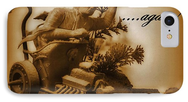 The Mummy Rides In Halifax Phone Case by John Malone