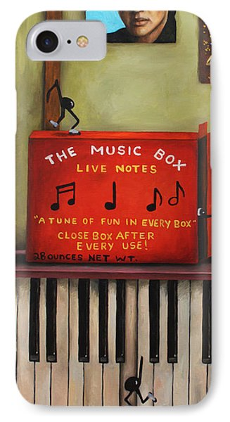 The Music Box Phone Case by Leah Saulnier The Painting Maniac