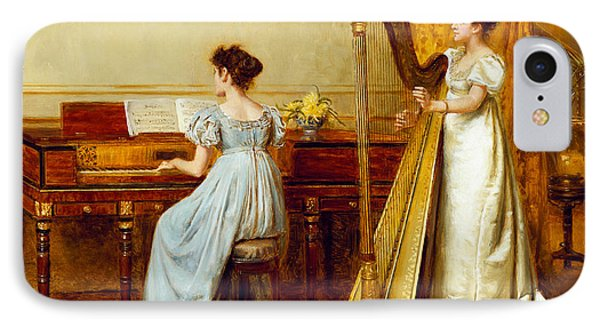 The Music Room Phone Case by George Goodwin Kilburne