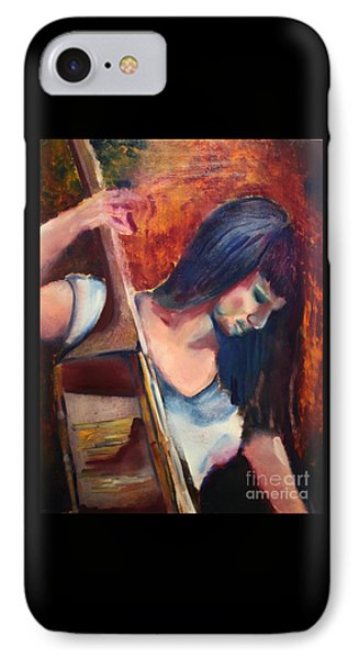 The Musician Phone Case by Michael Kulick