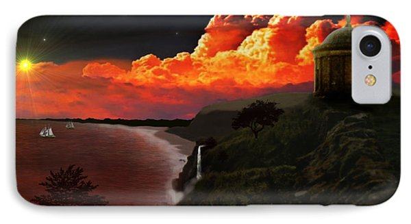 The Mussenden Temple - Ireland Phone Case by Michael Rucker