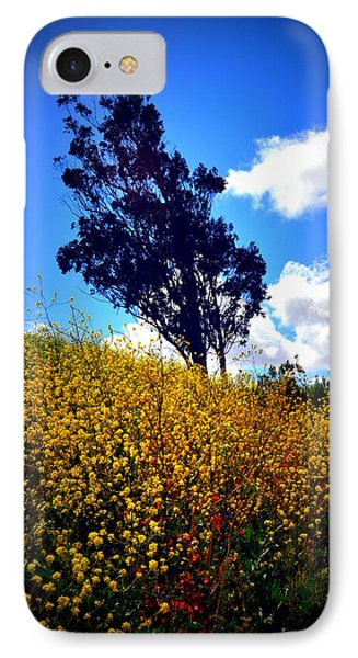 The Mustard Hillside Phone Case by Lisa Holland-Gillem