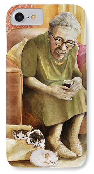 The Nanny Phone Case by Shelly Wilkerson