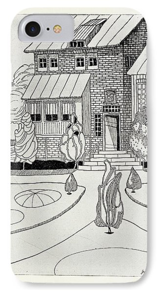 The Narrator's Home IPhone Case by British Library