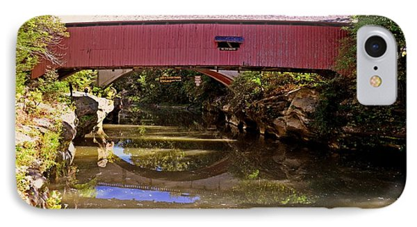 The Narrows Covered Bridge 1 Phone Case by Marty Koch