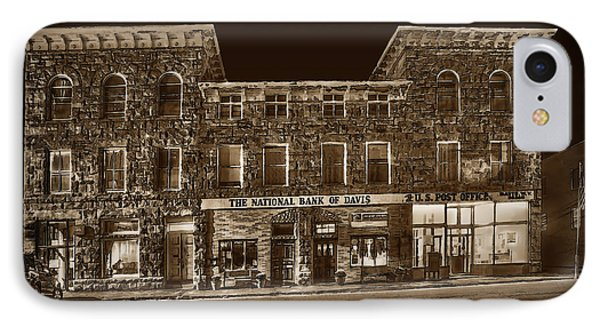 The National Bank Of Davis Wv Phone Case by Dan Friend