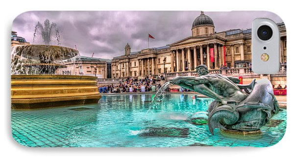 The National Gallery In Trafalgar Square IPhone Case