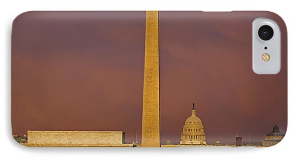 The Nations Capitol IPhone Case