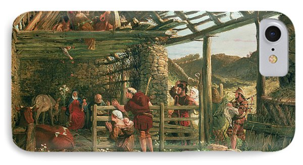 The Nativity, 1872 IPhone Case by William Bell Scott