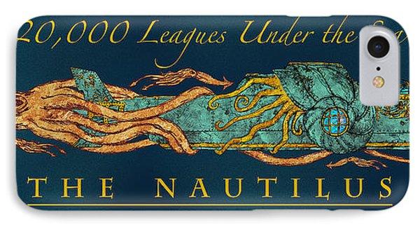 The Nautilus IPhone Case by William Depaula