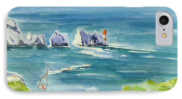 The Needles Isle Of Wight IPhone Case by Geeta Biswas