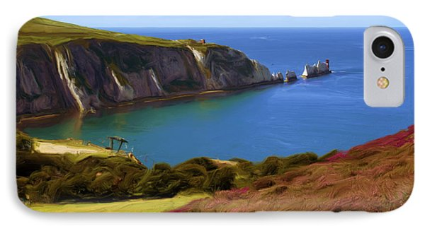 The Needles IPhone Case by Ron Harpham