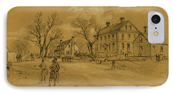 The Nelson House Yorktown Used As A Hospital By The Rebels IPhone Case by Quint Lox
