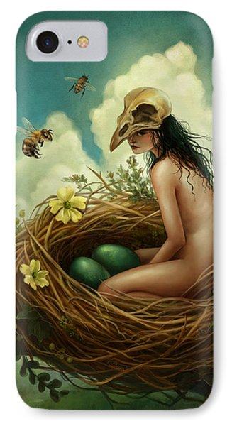 The Nest IPhone Case by Caroline Jamhour