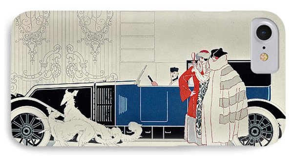 The New 6 Cylinder Renault, C 1920 IPhone Case