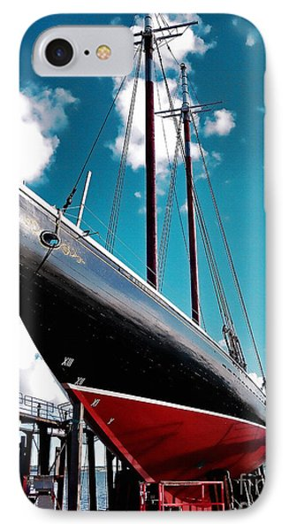 The New Blue Nose II 2013 IPhone Case by Patricia L Davidson