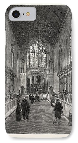 The New Chapel, Queens College IPhone Case by English School