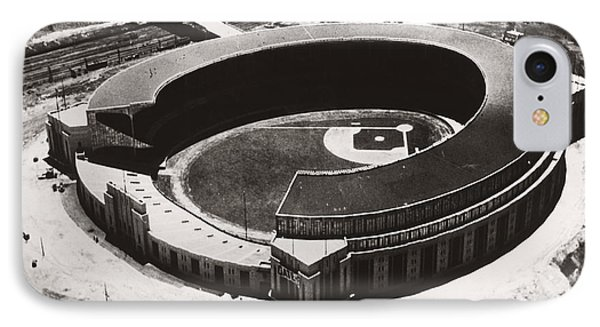 The New Cleveland Stadium IPhone Case by Underwood Archives