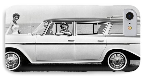The New Rambler Station Wagon IPhone Case by Underwood Archives