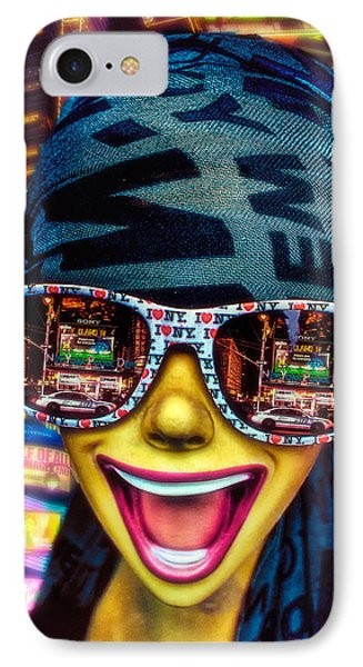 The New York City Tourist Phone Case by Chris Lord