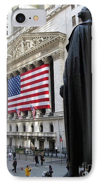 The New York Stock Exchange Phone Case by RicardMN Photography