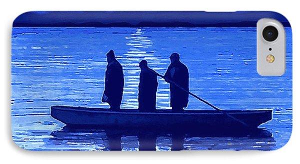 The Night Fishermen IPhone Case by Sophia Schmierer