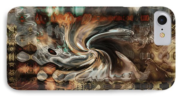 IPhone Case featuring the digital art The Night Life by Kim Redd