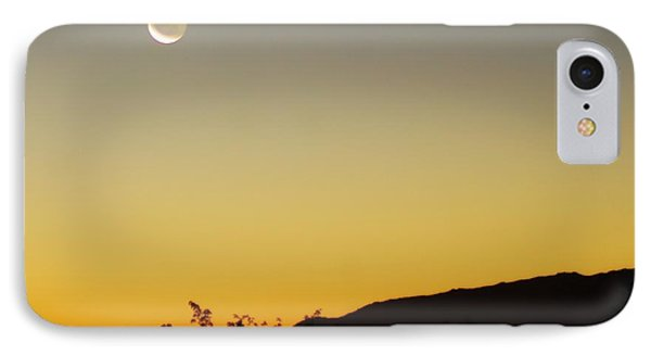 The Night Moves On IPhone Case by Angela J Wright