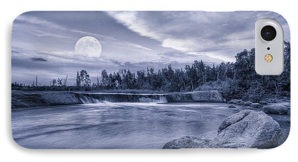 The Night Of The Full Moon IPhone Case