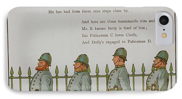 The Night Watch. Four Policeman IPhone Case by British Library