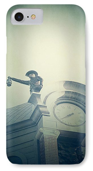 IPhone Case featuring the photograph The Night Watchman by Trish Mistric