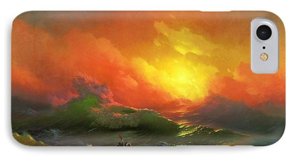 The Ninth Wave 1850 By Aivazovsky Phone Case by Movie Poster Prints