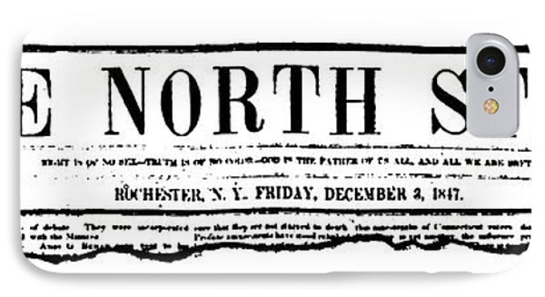 The North Star, 1847 IPhone Case by Granger