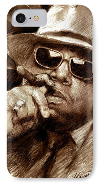 The Notorious B.i.g. IPhone Case by Viola El