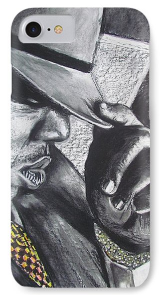 The Notorious B.i.g.  IPhone Case by Eric Dee