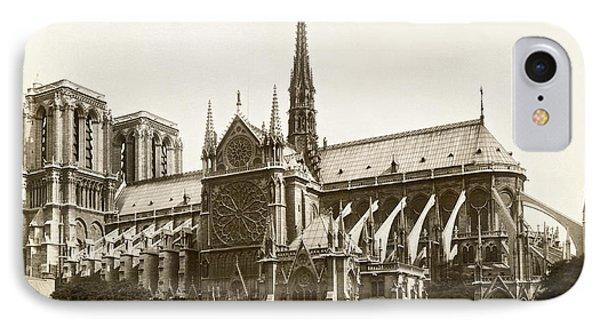 The Notre Dame De Paris IPhone Case by Jules Hautecoeur