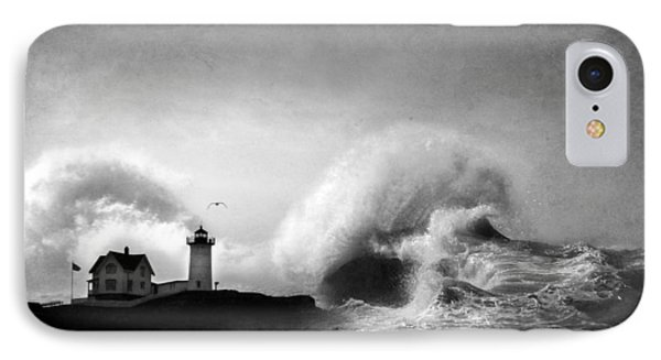 The Nubble In Trouble Phone Case by Lori Deiter