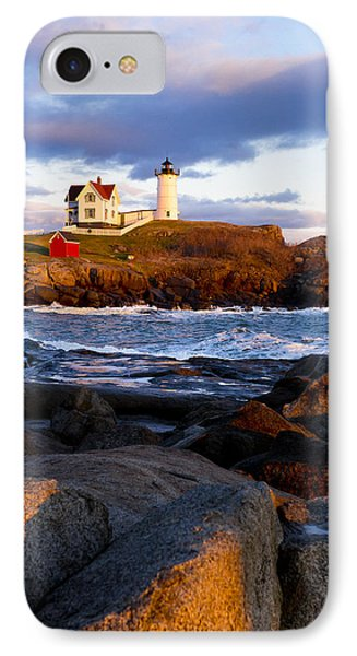 The Nubble Lighthouse IPhone Case by Steven Ralser