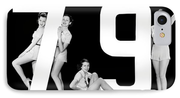 The Number 79 And Four Women IPhone Case