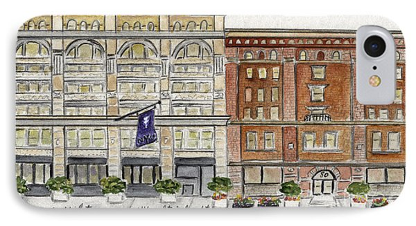 The Nyu Steinhardt Pless Building IPhone Case by AFineLyne