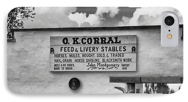 The O. K. Corral IPhone Case by Anne Rodkin