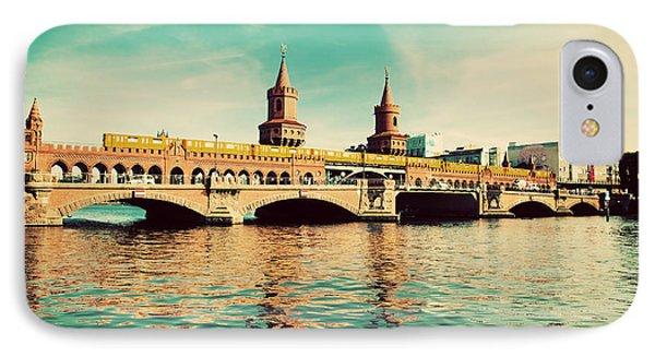 The Oberbaum Bridge In Berlin Germany Phone Case by Michal Bednarek