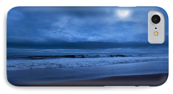The Ocean Moon IPhone Case by Bill Wakeley