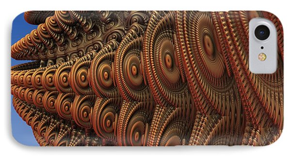The Odd Beauty Of Fractals Phone Case by Lyle Hatch