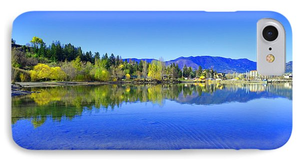 The Okanagan Blues IPhone Case by Tara Turner