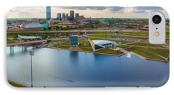 Capitol Building iPhone 7 Case - The Oklahoma River by Cooper Ross