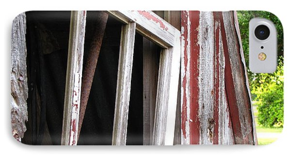 IPhone Case featuring the photograph The Old Barn by Beth Vincent