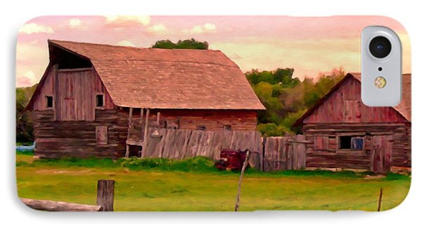 The Old Barn Phone Case by Michael Pickett