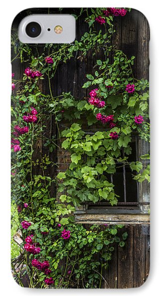 The Old Barn Window IPhone Case by Debra and Dave Vanderlaan